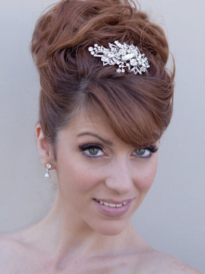 Excellent Top Five Bridal Hair Accessory Trends Bridal Hot List Short Hairstyles For Black Women Fulllsitofus