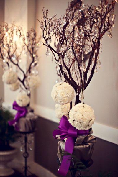 Manzanita Branches Wedding Decor - Bridal Hot List