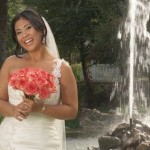 """Amber, a bride from this week's TLC episode of """"Four Weddings"""""""