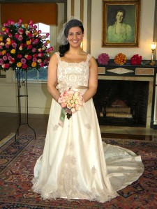 Enza, the winning bride