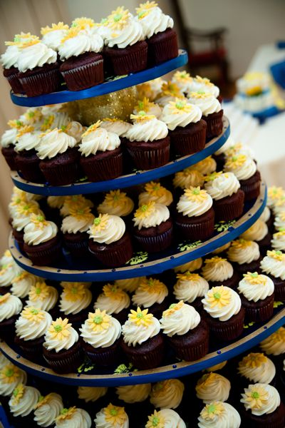 wedding cupcake towers