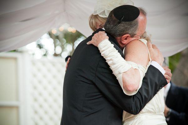 Ceremony hug