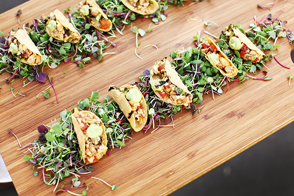 Fresh Catering for Weddings from Tender Greens - Bridal Hot List