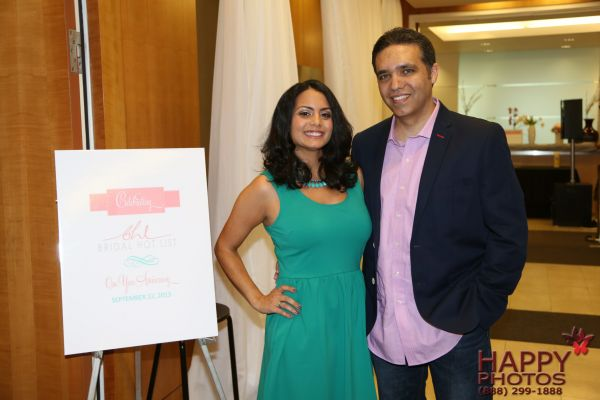 Owner and Chief Editor Niloufar Gibson with her husband, Sean
