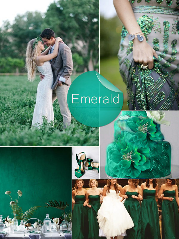 2013-Trendy-Emerald-Green-Fall-Wedding-Color-Ideas