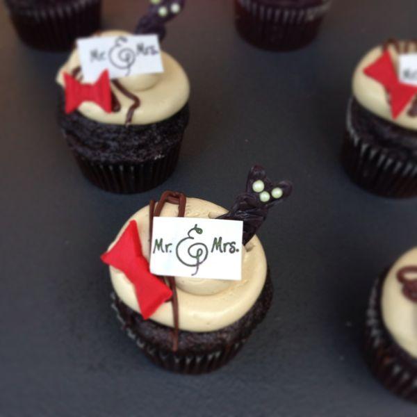 Chocolate Espresso Cupcake Photo by Bridal Hot List