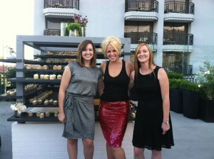 Kaylee and Angela with Event  Planner Kristin Banta.
