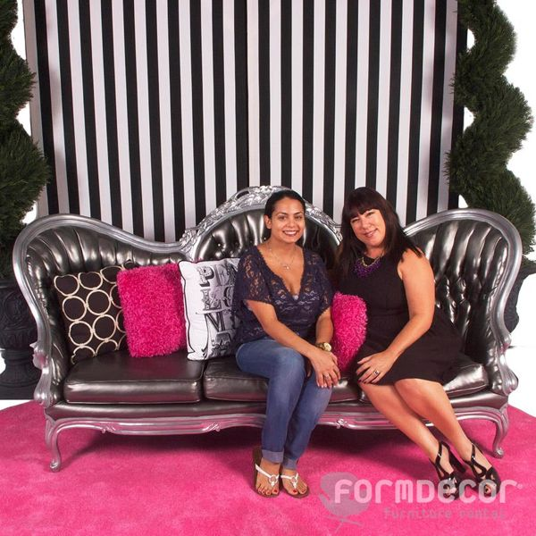 Niloufar Gibson, Owner and Chief Editor at BHL with Kellie  Form Decor's Account Executive, Kellie Migliaccio