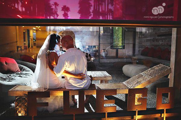 audra + danny | hotel maya wedding | miminguyen.com
