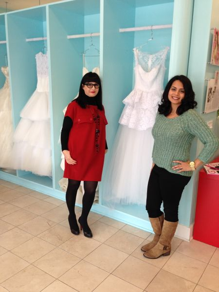 Designer, Armine Ohanessian with Chief Editor, Niloufar GIbson