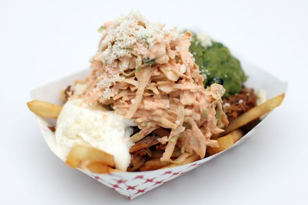 The Lime Truck Carnitas Fries III