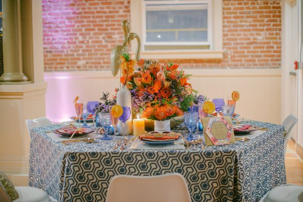 Designer/Planner: At Your Door Events www.atyourdoorevents.com Floral Design: Tic Tock Couture www.tictock.com Design Contributions: Two's A Party www.twosaparty.com Photo Credit: Krista Mason www.kristamason.com