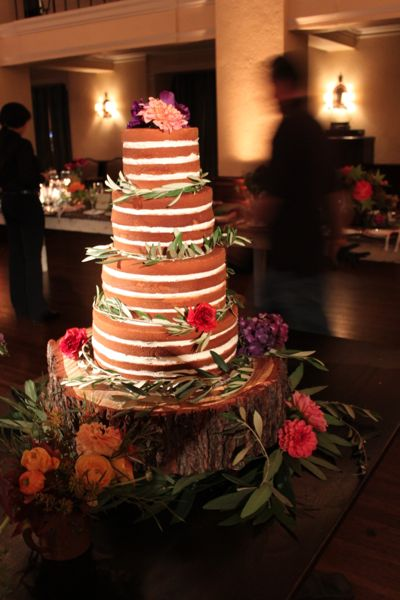 Naked Cake at The Ebell of LA
