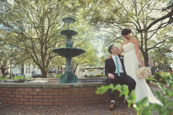 Savannah Wedding Photography - LaFayette Square - Amanda + John - Six Hearts Photography0672