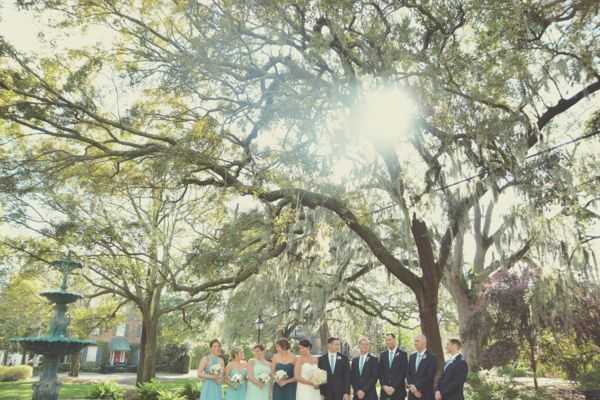 Savannah Wedding Photography - LaFayette Square - Amanda + John - Six Hearts Photography0688