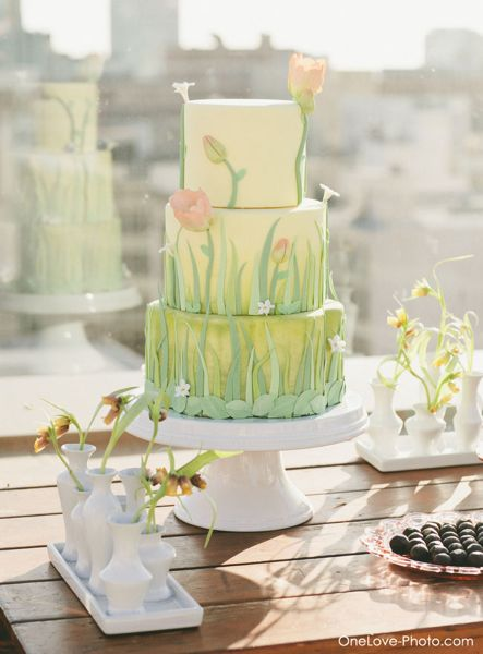 Urban Meadow Cake